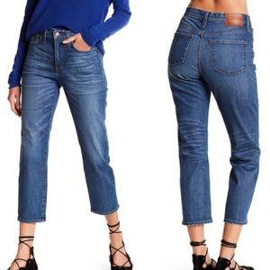 J. Crew Straightaway Vtg Callie Crop Sz 32 Jeans